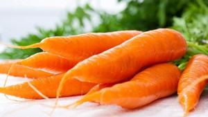 Cà rốt có chứa nhiều beta – carotene, một tiền vitamin A – chất chống oxy hóa