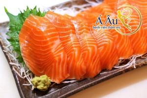 Giàu omega 3 nên cá là thực phẩm chống lão hóa hiệu quả cho da mặt.